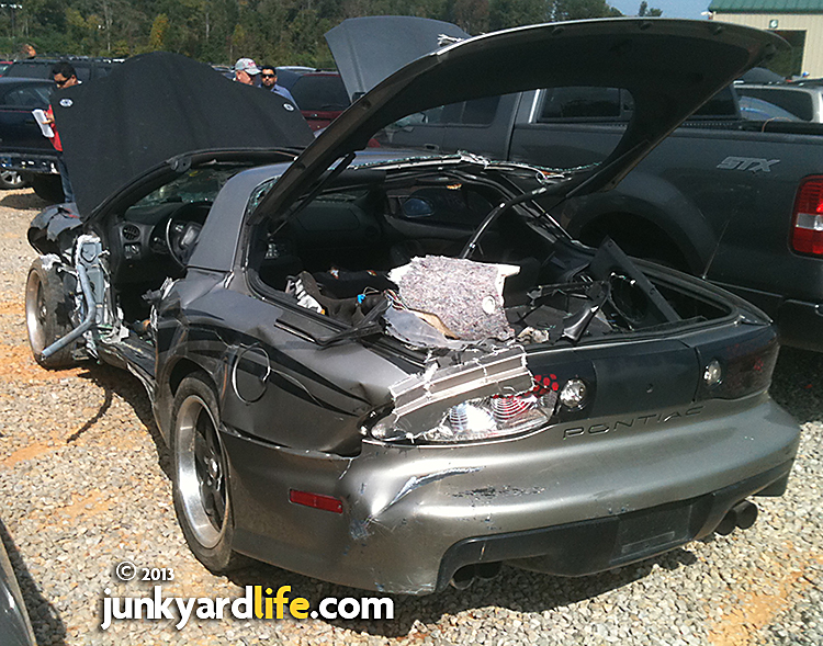Wrecked LS1-powered Pontiac Trans Am sold at auction.