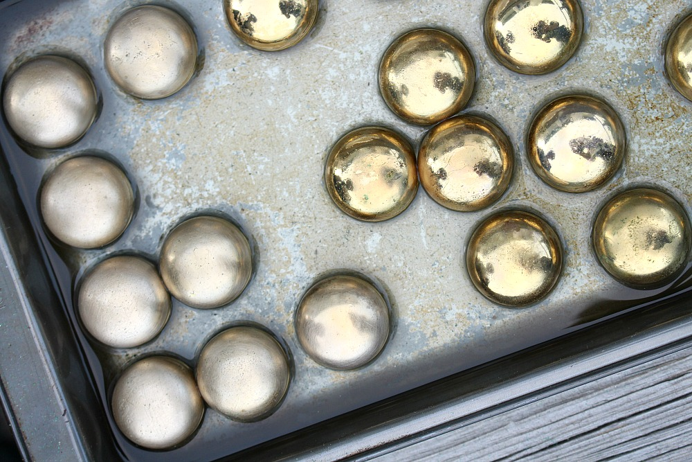 Remove Shine and Wear from Brass Knobs