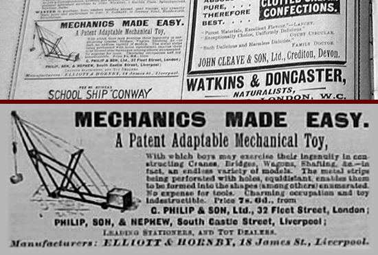Mechanics Made Easy advertisement 1902