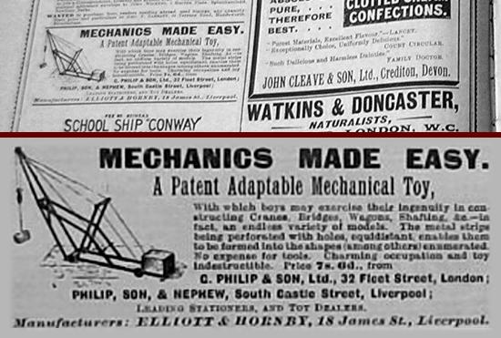 Mechanics Made Easy advertisement 1902