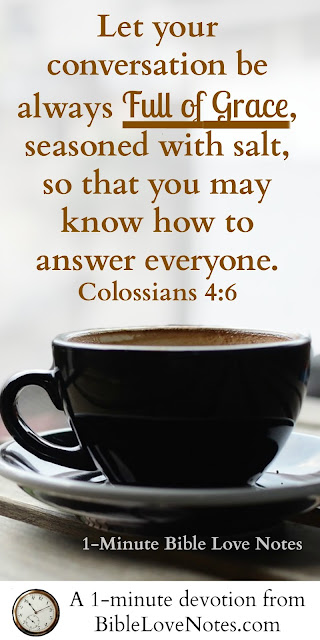 Colossians 2:8, speaking truth in love