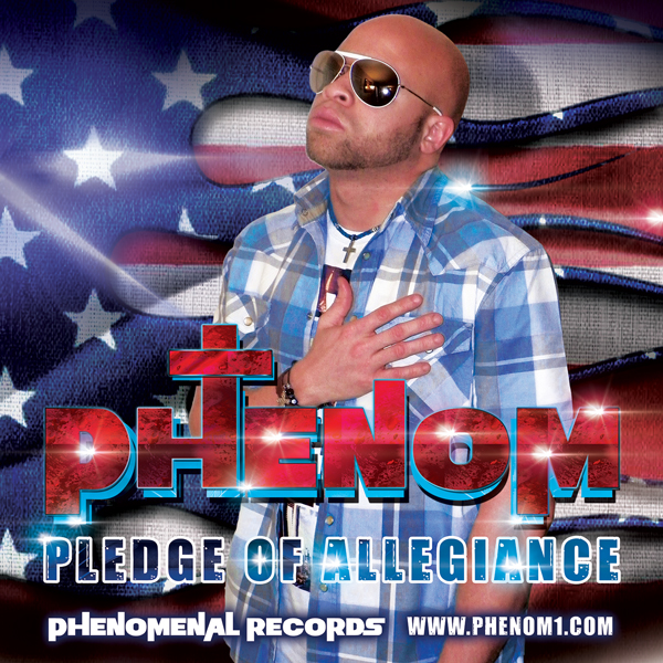 Phenom D Pledge Of Allegiance Album Cover Design
