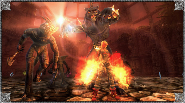 X-Blades PC Game Free Download Screenshot 2