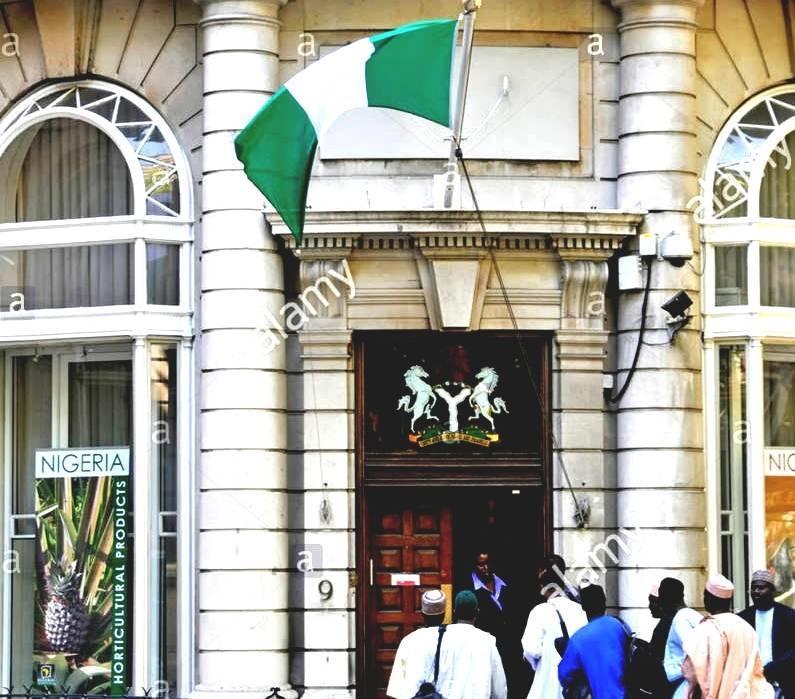 4208 Embassy Park Dr Nw Washington: Embassy Of Nigeria, Washington, D.C.