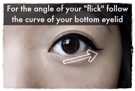 Beauty Hack #6: For the perfect eye liner wing