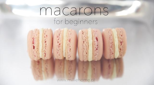 łatwy przepis na francuskie makaroniki