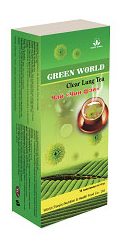 Produk GreenWorld Clear Lung Tea