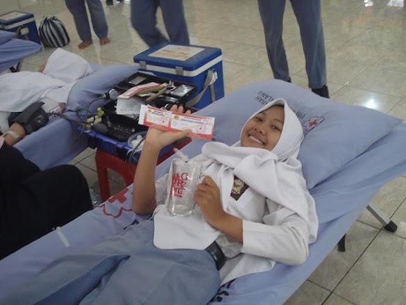 Bangga Jadi Relawan Donor Darah