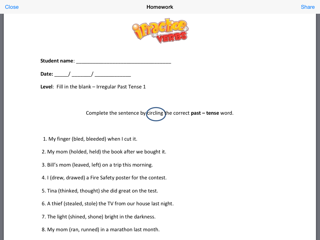 Let S Talk With Whitneyslp Smarty Ears Ipractice Verbs