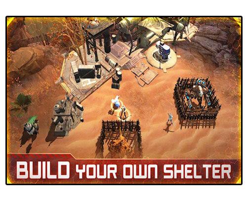 لعبة Wasteland Heroes