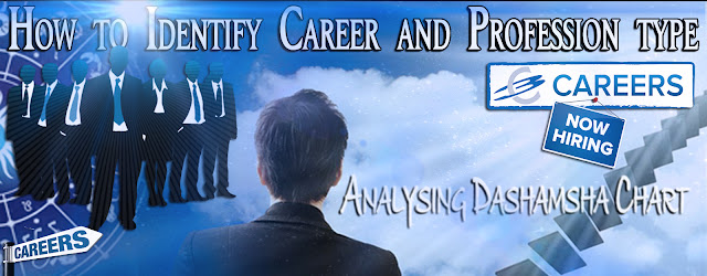 Case Study - Part 1 - Dashmamsa Chart : How to Identify Career, Profession type, Work Profile and Financial Success in Work