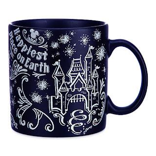 Chalkboard Magic Kingdom Mug, Holiday Gift guide for disney moms