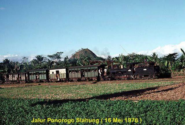 Jalur Ponorogo Slahung.