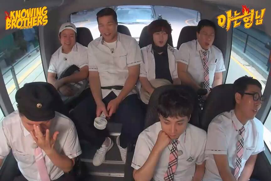 Nonton streaming online & download Knowing Brothers episode 187 Spesial Field Trip sub Indo