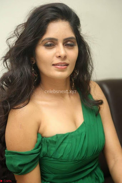 Madhimita in Emerald Green Stunning Pics ~  Exclusive Pics 001.jpg