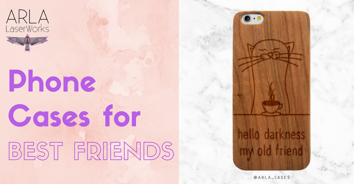 customized phone cases the unique gifts for best friends