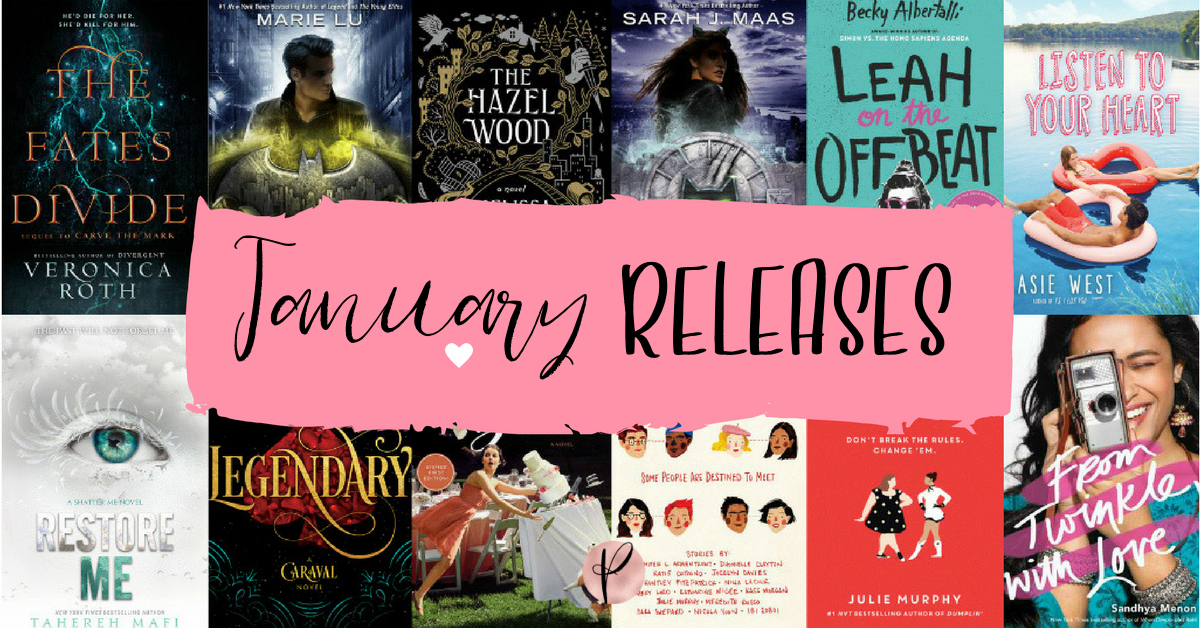 YA January Releases   2018   Pretty Little Memoirs - a Young Adult