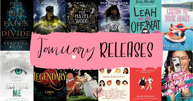 YA January Releases | 2018