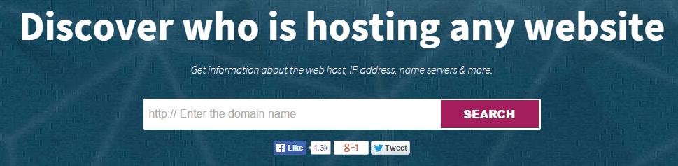 Cách kiểm tra hosting một trang web đang sử dụng