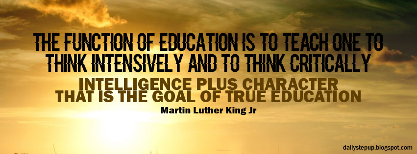 Best Motivational Quotes For Students Martin Luther King Jr True