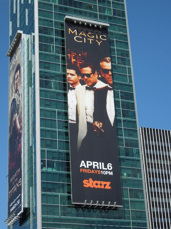 Magic City TV billboard