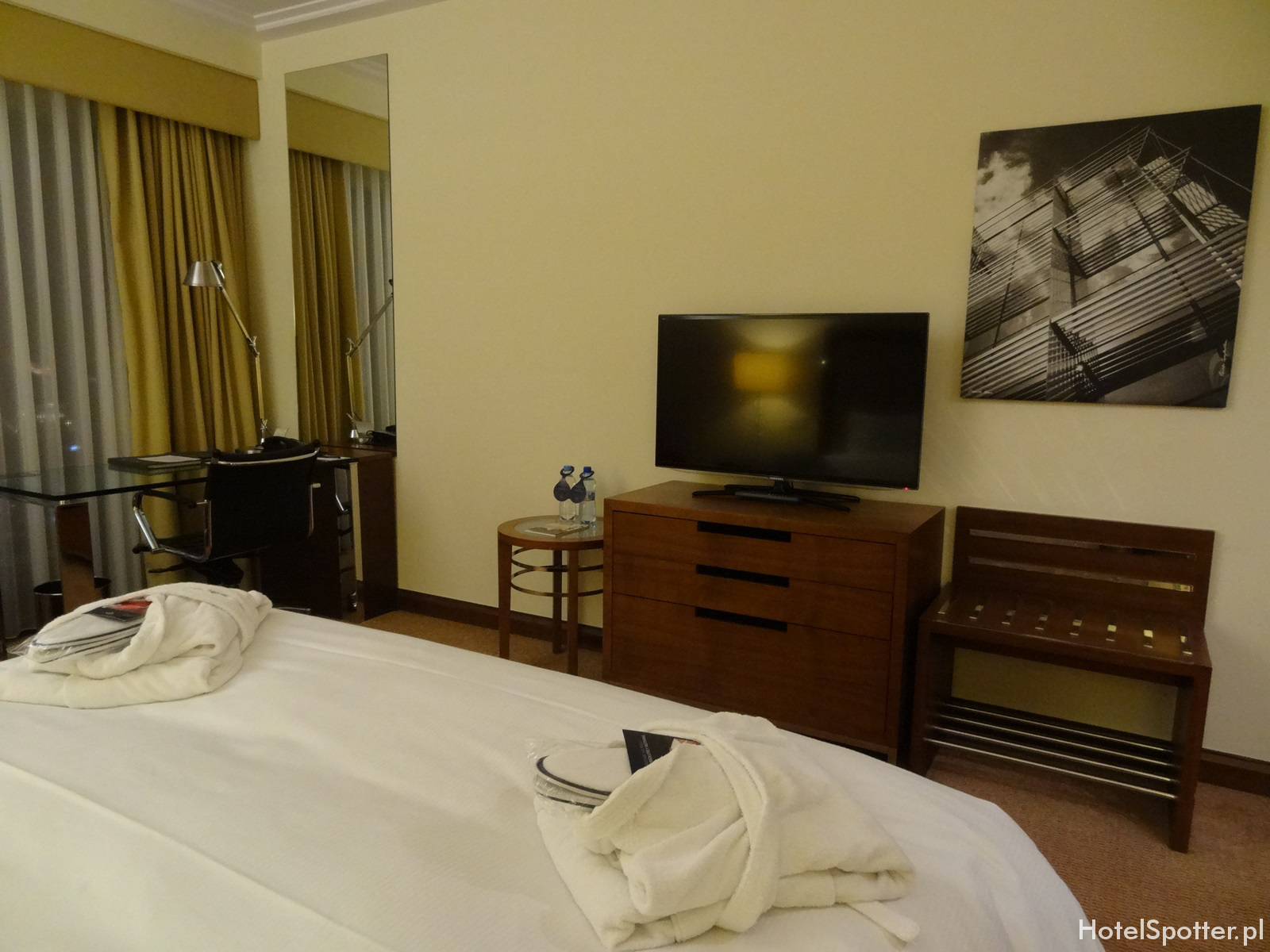 Hilton Warsaw Hotel - pokoj executive