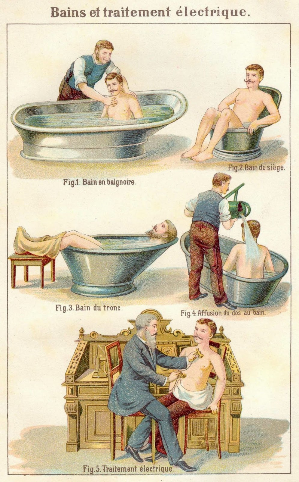 How To Take a Steam Bath, And Other Victorian Visual Health Guides