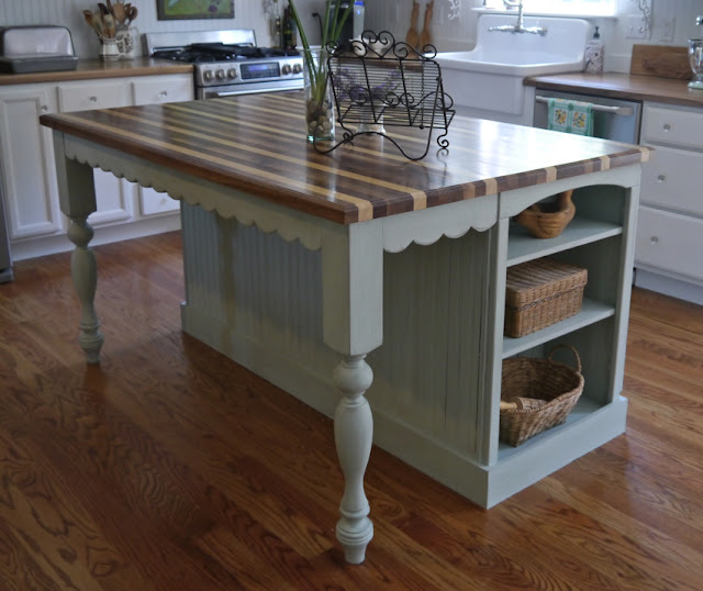 cottage kitchen island cynthia cranes and gardening goodness part 3 ranch 11178
