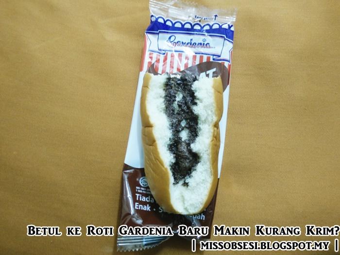Roti Gardenia Baru Makin Kurang Krim