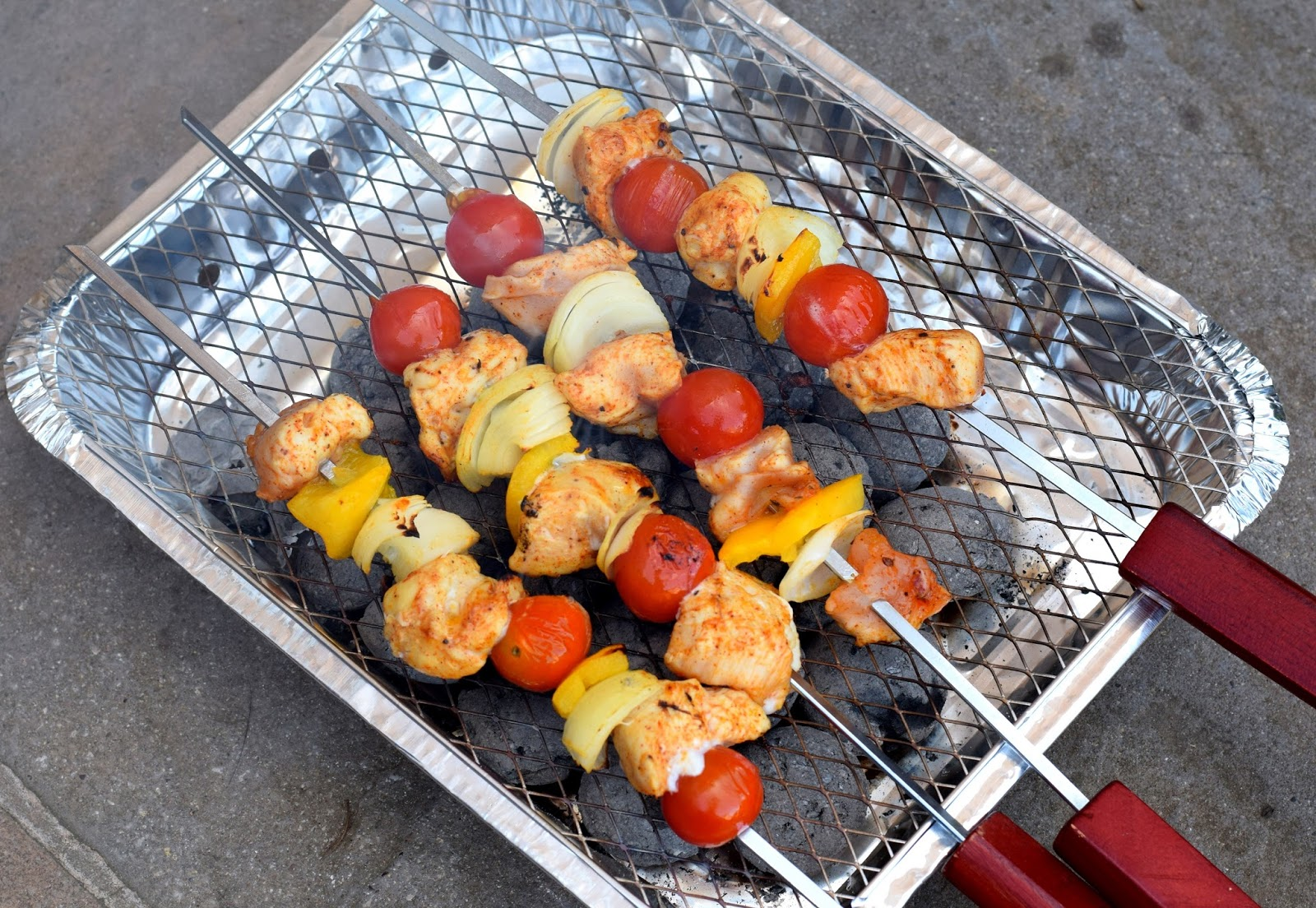 Summer Holidays And Campfire Cooking