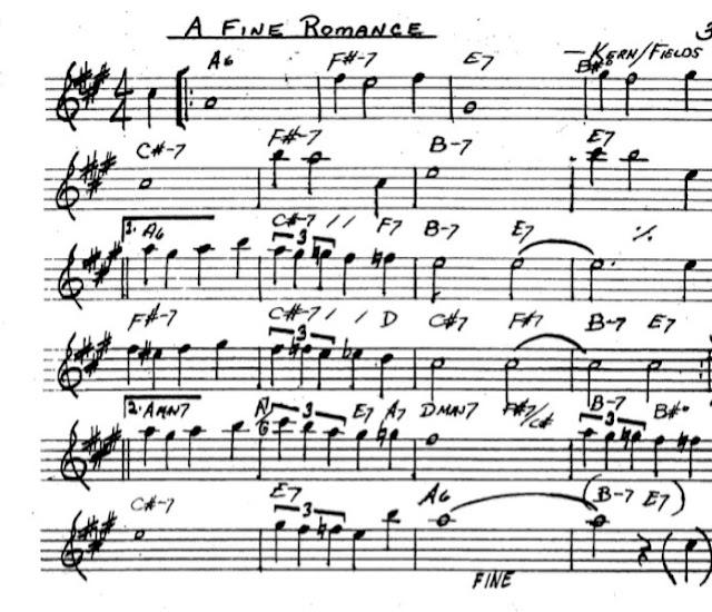 Partitura Saxofón Kern Fields