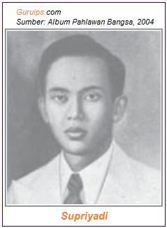 Supriyadi awalnya ditunjuk sebagai pimpinan TKR yang pertama.