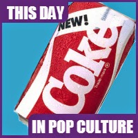 """New Coke"" first appeared on store shelves on April 23, 1985."