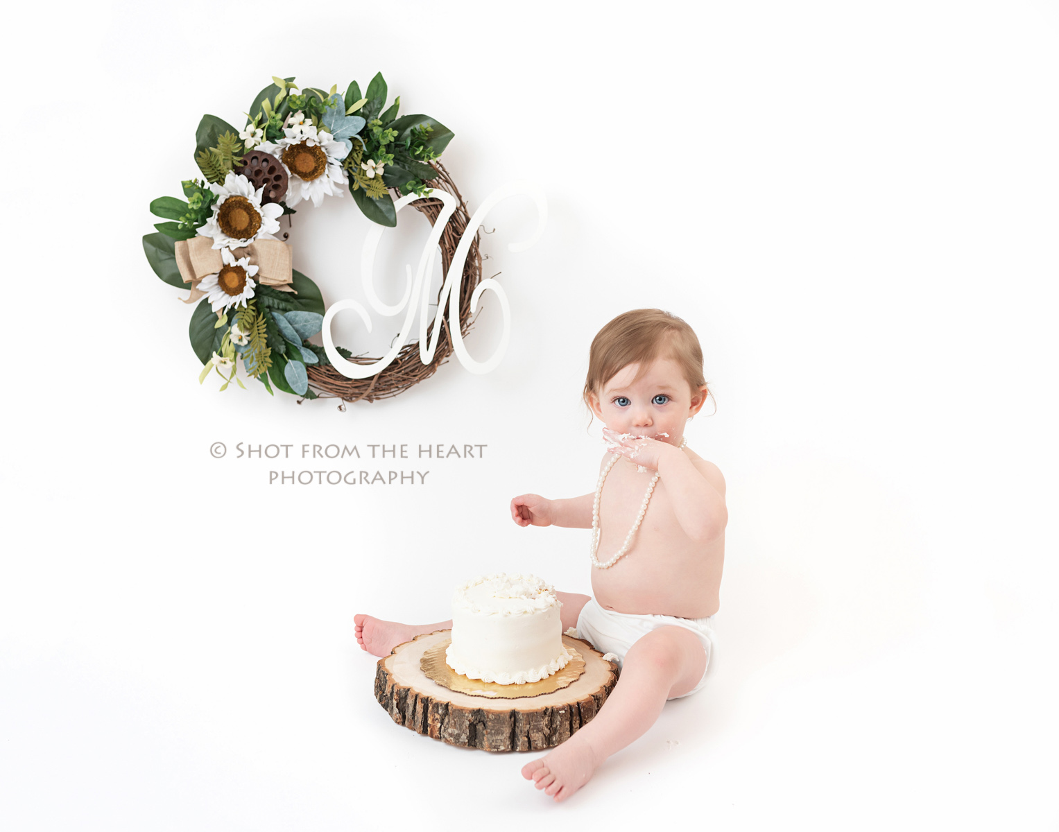 Cool First Birthday Cake Smash On White Canton Ga Shot From The Personalised Birthday Cards Arneslily Jamesorg