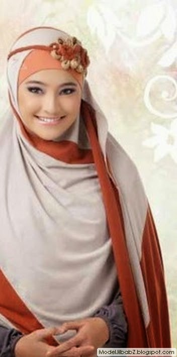 model jilbab marshanda
