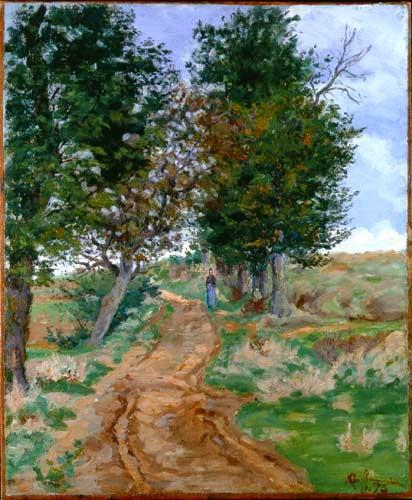 Caminho na Floresta ~ Armand Guillaumin - Pintor Impressionista com cores intensas