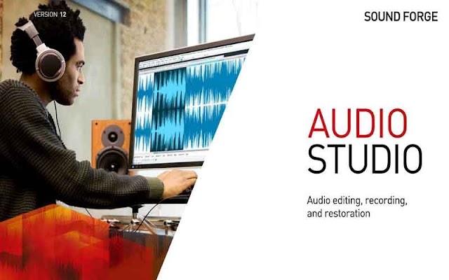 MAGIX SOUND FORGE Audio Studio 13.0.0.45 (x86/x64) F.u.l.l - Chỉnh sửa âm thanh chuyên nghiệp