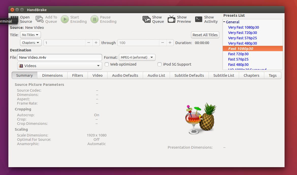 Install HandBrake 1 0 3 on Ubuntu / Linux Mint via PPA - The Ubuntu