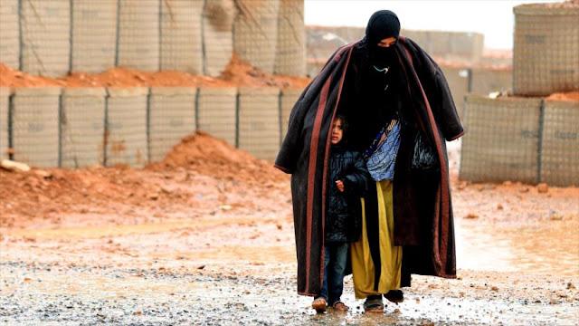 Rusia: EEUU priva a 55.000 sirios de asistencia humanitaria