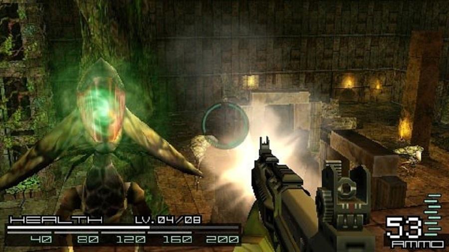 Daftar Kumpulan Game 3D FPS Tembak Tembakan Di PSP PPSSPP (Gameplay) : Coded Arm