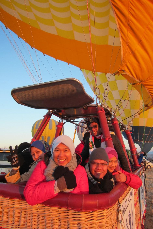 Percutian Raja Eyrie Ke Turki Winter 2014 Istanbul Cappadocia