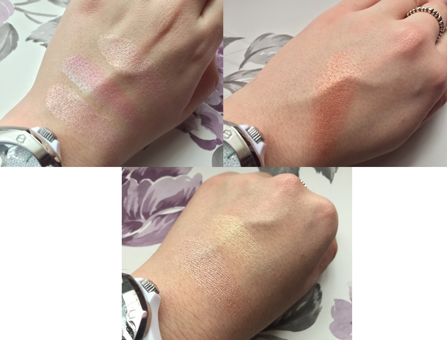 Makeup Revolution Blushing Hearts Swatched