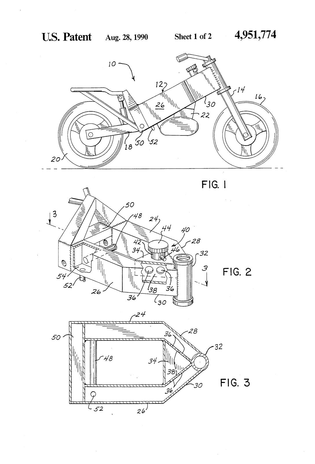 Harley Softail Frame Diagram Fibromyalgia Pain Oddbike Davidson Vr1000 God 39s Own Voice