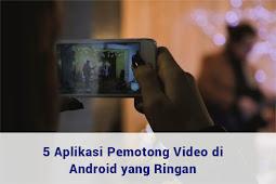 Aplikasi edit vidio untuk pemula