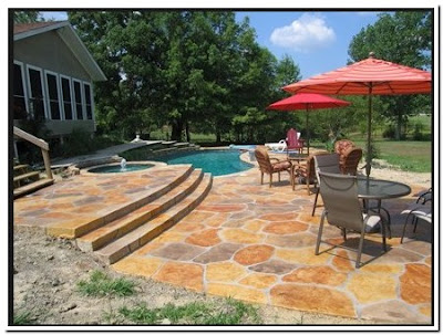Pressed Concrete Patio Cost Pricing