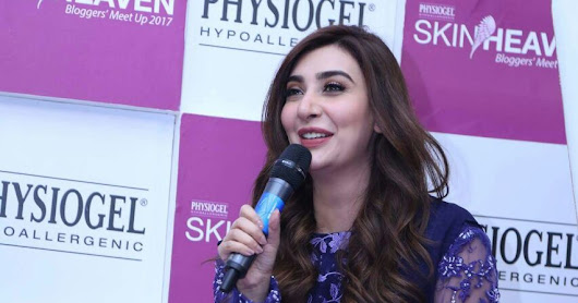 Aisha Khan Hosts Physiogel's Skin Heaven Bloggers' Meet Up in Lahore