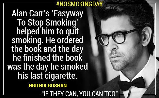 No Smoking Hrithik Roshan