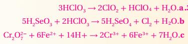 طبق زن المعادلات الآتية