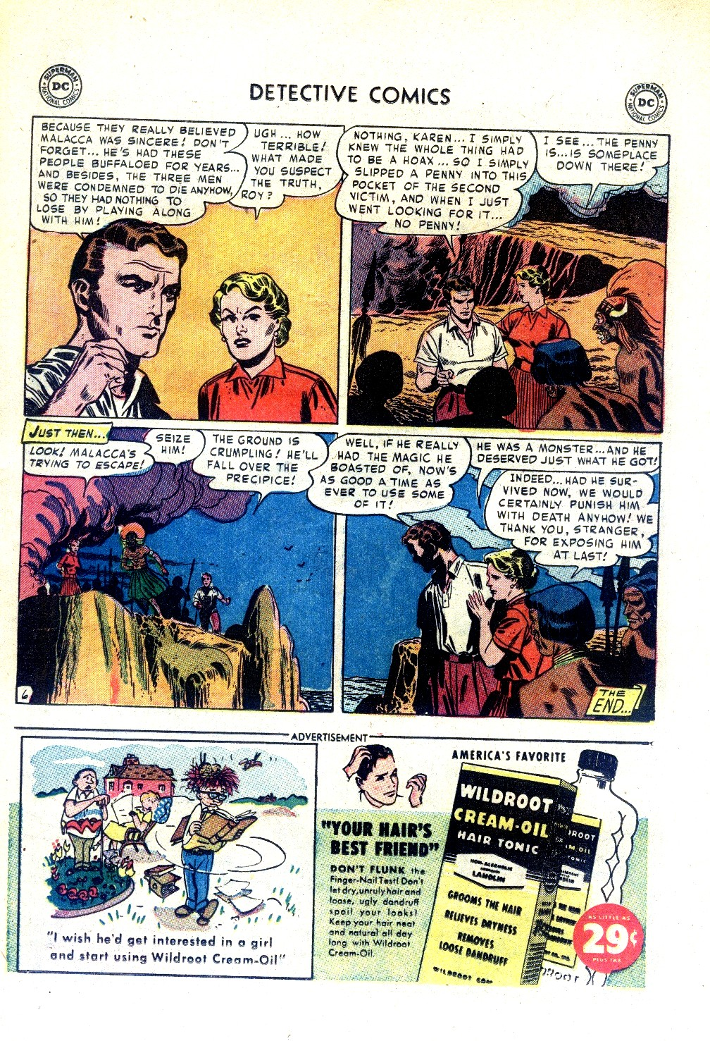 Read online Detective Comics (1937) comic -  Issue #188 - 30