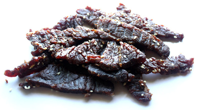korean barbecue beef jerky